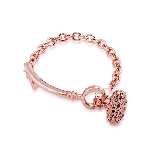 Disney Alice in Wonderland Key Bracelet Rose