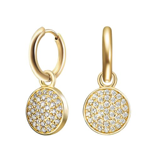 Kagi Gold Cosmos charm Earrings