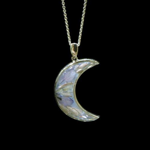 Botanigem Pale Moon Necklace