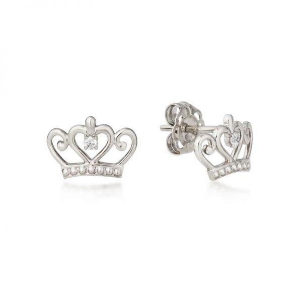 Disney Precious Metal Princess Stud Earrings