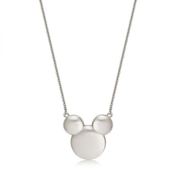 Precious Metal Mickey Mouse Necklace