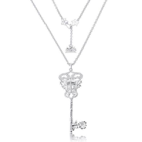 Couture Kingdom Disney Princess Mulan Silver Key Necklace jewellery