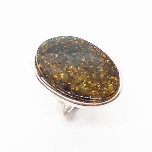 Genuine Baltic Amber Ring159