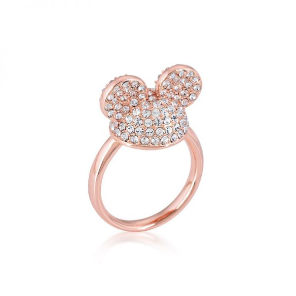 Disney Mickey Mouse Ear Hat Ring Rose Gold