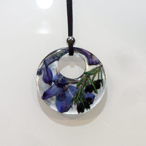 BOTANIGEM Purple Haze Necklace