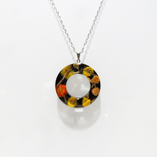 Circle of Life Wattle Necklace