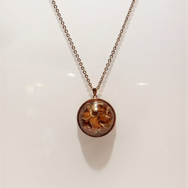 Copper Blossom Necklace