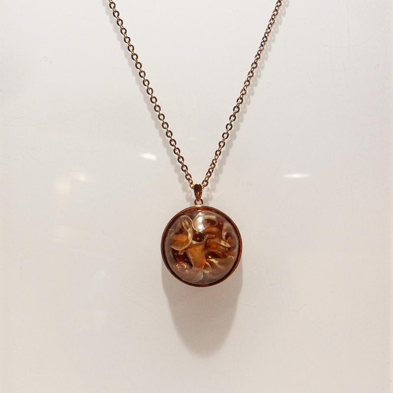 Copper Blossom Necklace