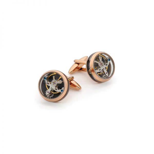 Clock work cufflinks