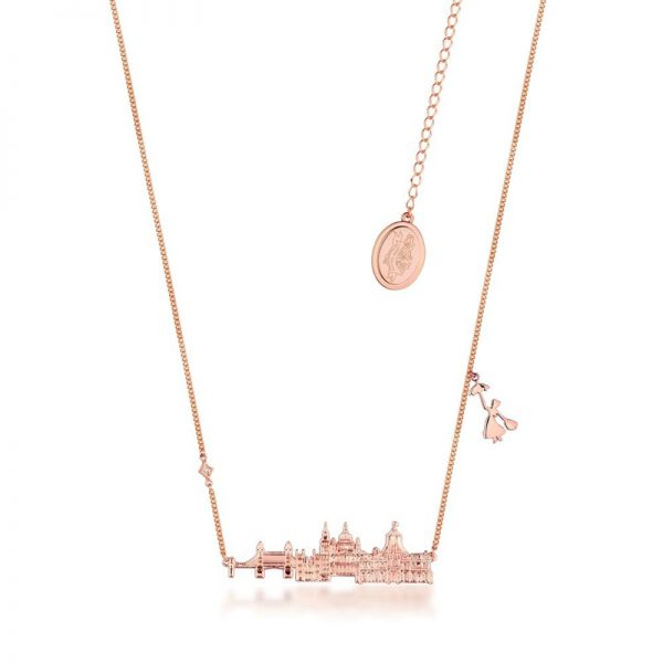 Disney Mary Poppins Cherry Tree Lane Necklace Rose