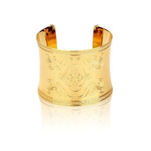 Disney-Aladdin-Magic-Carpet-Cuff-bracelet-Yellow-Gold-Front-View-Jewellery-by-Couture-Kingdom-DYB550_900x