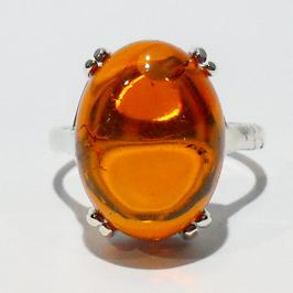 Genuine Baltic Amber Ring 123