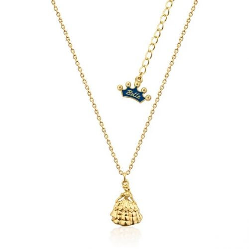 Couture Kingdom Disney Beauty and the Beast Yellow-Gold Princess Belle Necklace Junior