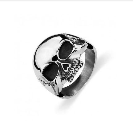 Stainless Steel Scull Ring