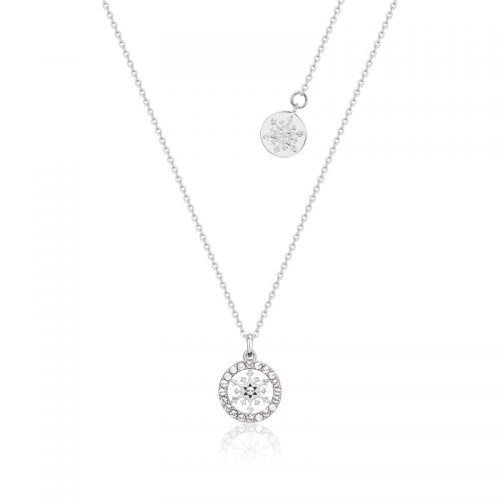 Disney Frozen April Birthstone Necklace Sterling Silver