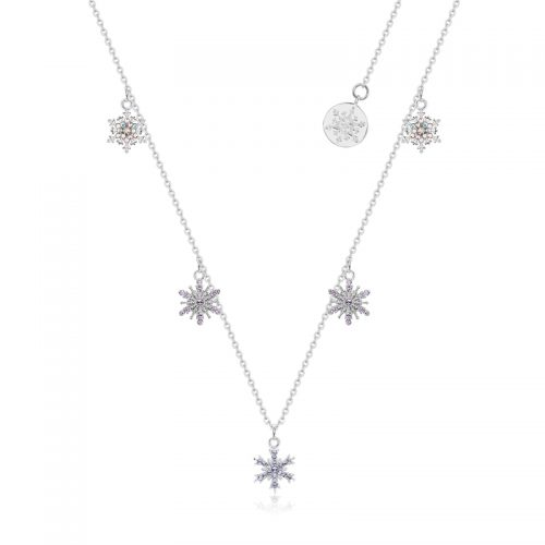 Disney Frozen snowflake necklace