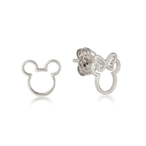 Disney mickey Minnie Mouse Mix MAtch Sterling Silver Stud Earrings Couture Kingdom