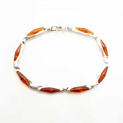 Genuine Baltic Amber Bracelet 154