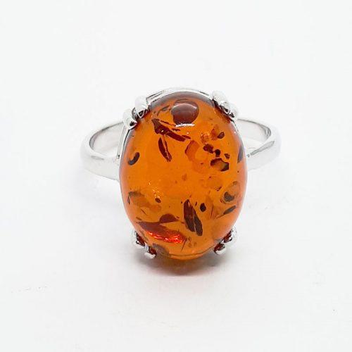 Genuine Baltic Amber Ring 156