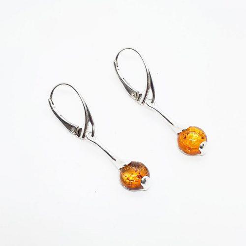 Genuine Baltic Amber Earrings 168