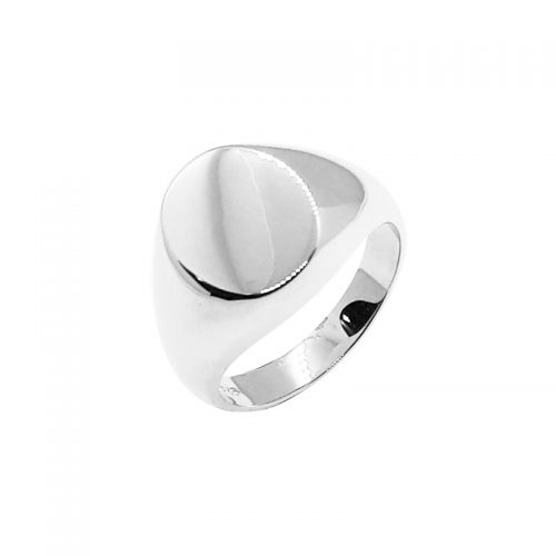 Sterling Silver Signet Ring Oval