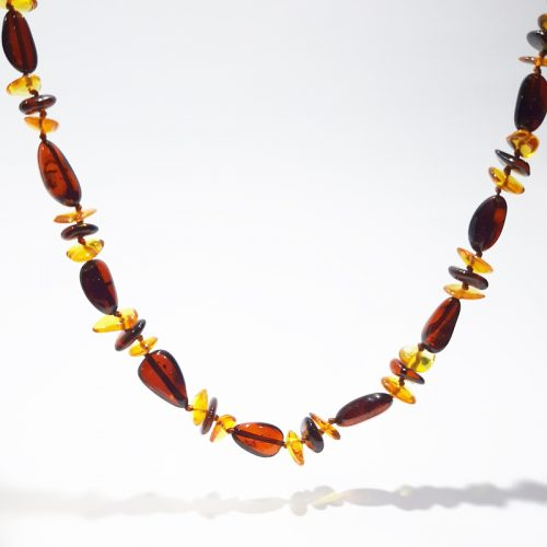 Amber necklace AC111