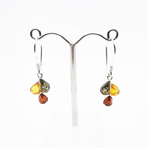 Amber Earrings AC115B