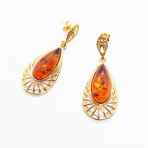 Amber Earring AC176