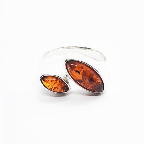 Amber ring AC178