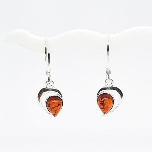 Genuine Baltic Amber Earrings 188