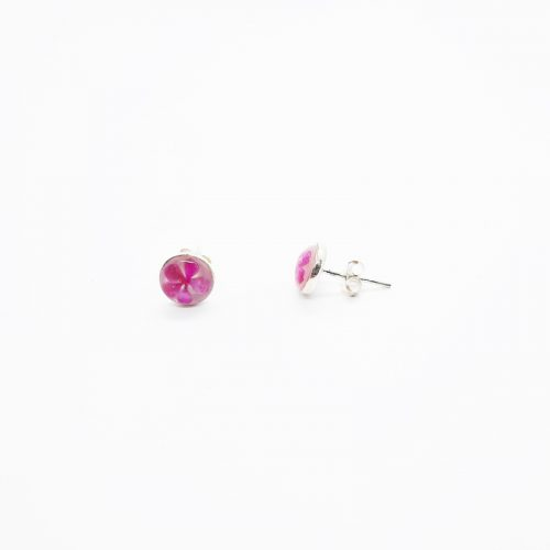 Petite Pink Stud MOP Earrings