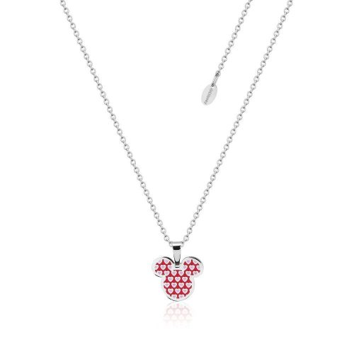 Disney ECC Mickey Mouse Hearts Enamel Necklace