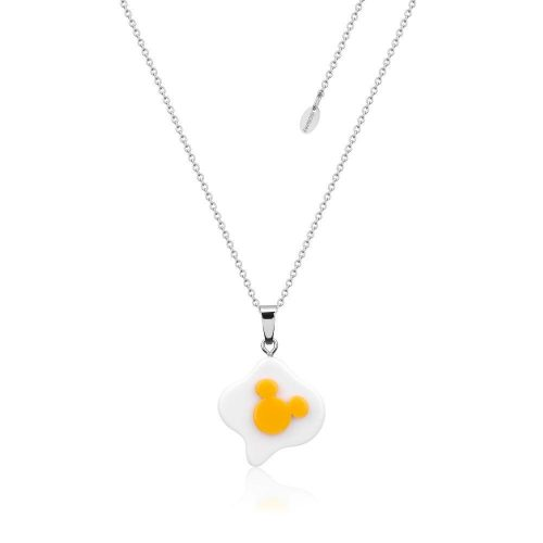 Disney ECC Mickey Mouse Fried Egg Necklace