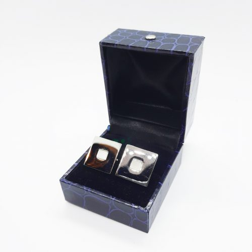 Cat's Eye Square Cufflinks