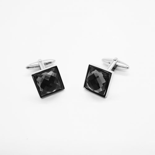 Swarovski Crystal Square Cufflinks