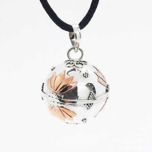 Large Copper Lotus Harmonyball