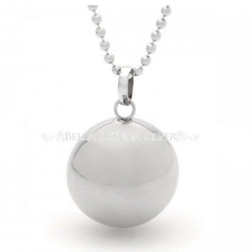 Plain Silver Harmonyball Pendant