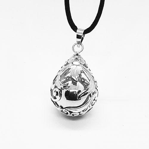 Teardrop Antique Sterling Silver Harmony Ball
