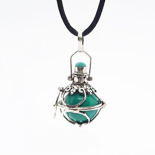 Turquoise Stone with Enamel Harmonyball
