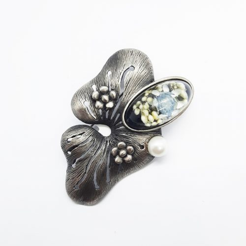 BOTANIGEM Big Flower Brooch