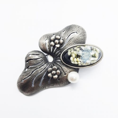 BOTANIGEM Big Flower Brooch