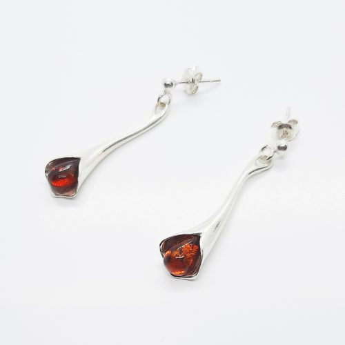 Genuine Baltic Amber Earrings 207