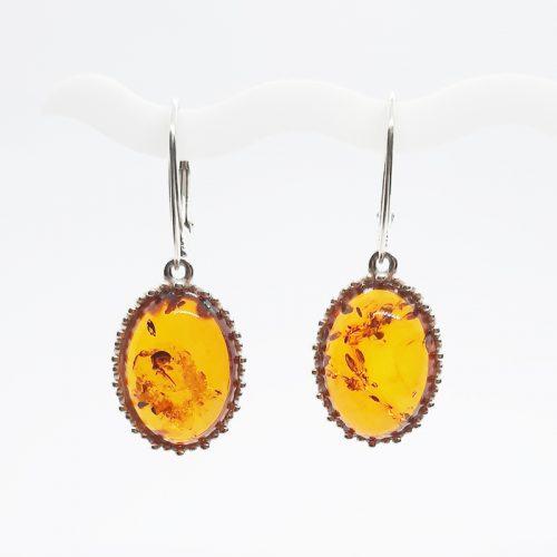 Genuine Baltic Amber Earrings 209