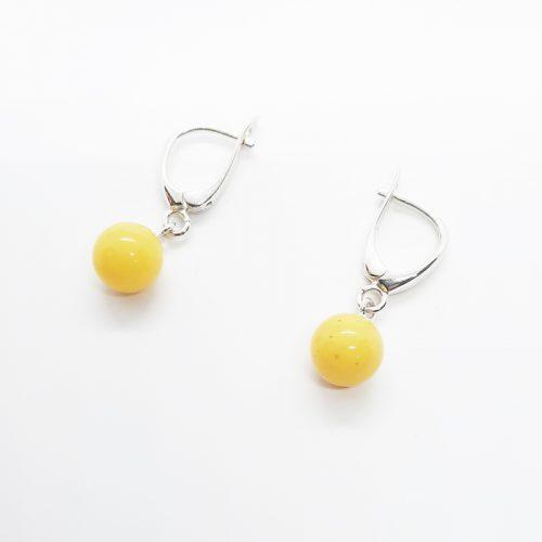 Genuine Baltic Amber Earrings 210