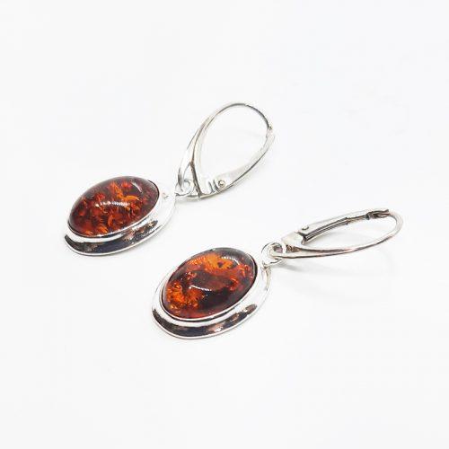 Genuine Baltic Amber Earrings 212