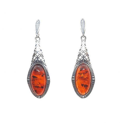 Genuine Baltic Amber Earrings 213