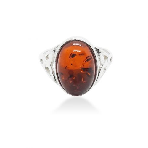 Genuine Baltic Amber Ring 235