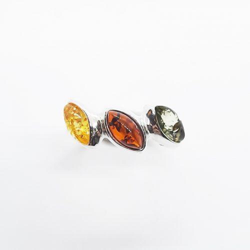Genuine Baltic Amber Ring 239