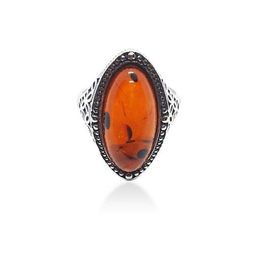 Genuine Baltic Amber Ring 240