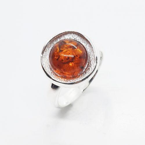 Genuine Baltic Amber Ring 241